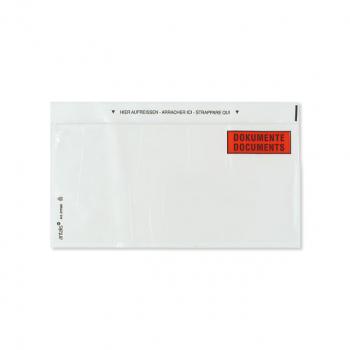 Dokumententaschen C5, 235 x 160 mm mit Aufdruck Dokumente/Documents, Pack à 250 Stück