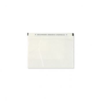 Dokumententaschen C6 165 x 120 mm transparent, Pack à 250 Stück