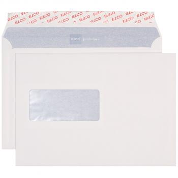 ELCO Briefumschläge ProFutura C5 229 x 162 mm, naturweiss, Fenster links, Pack à 500 Stück