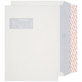 ELCO Briefumschläge ProFutura C4 324 x 229 mm, naturweiss, Fenster links, Pack à 250 Stück