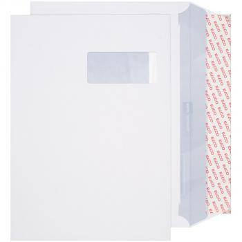 ELCO Briefumschläge Premium C4 324 x 229 mm, hochweiss, Fenster rechts, Pack à 250 Stück