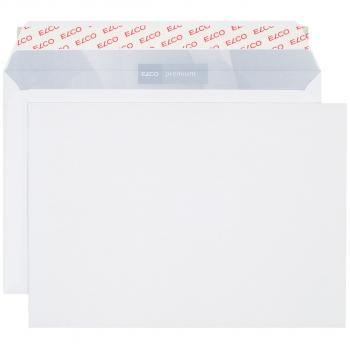 ELCO Briefumschläge Premium C5 229 x 162 mm, hochweiss, Pack à 500 Stück