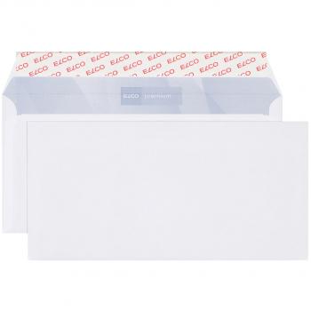 ELCO Briefumschläge Premium C5/6 229 x 114 mm, hochweiss, Pack à 500 Stück