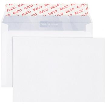 ELCO Briefumschläge Premium C6 162 x 114 mm, hochweiss, Pack à 500 Stück