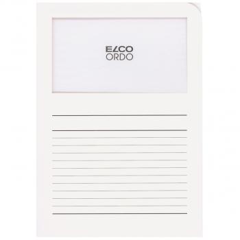 ELCO Ordo Classico mit Linien, weiss, Pack à 100 Stück
