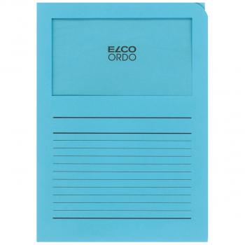 ELCO Ordo Classico mit Linien, blau, Pack à 100 Stück
