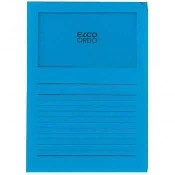 ELCO Ordo Classico mit Linien, intensivblau, Pack à 100 Stück