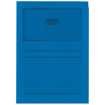 ELCO Ordo Classico mit Linien, königsblau, Pack à 100 Stück
