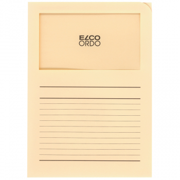 ELCO Ordo Classico mit Linien, hellchamois, Pack à 100 Stück