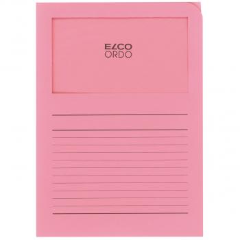 ELCO Ordo Classico mit Linien, rosa, Pack à 100 Stück