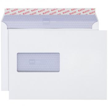 ELCO Briefumschläge Laser C5 229 x 162 mm, weiss , Fenster links, Pack à 500 Stück