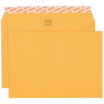 ELCO Briefumschläge Gelb Bank C5 229 x 162 mm, gelb, Pack à 500 Stück