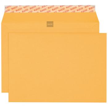 ELCO Briefumschläge Gelb Bank B5 250 x 175 mm, gelb, Pack à 500 Stück