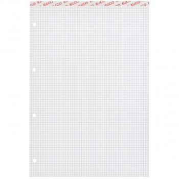 ELCO Notizblöcke Office A4  mit je 100 Blatt, 4 mm, Pack à 10 Stück