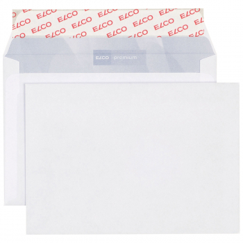 ELCO Briefumschläge Office C6 162 x 114 mm, weiss, Pack à 200 Stück