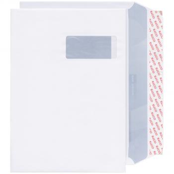 ELCO Briefumschläge Office C4 324 x 229 mm, weiss, Fenster rechts, Pack à 50 Stück