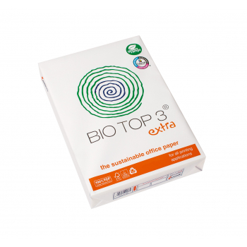 mondi Recyclingpapier BIO TOP 3® extra in A4, 90 g/m², Pack à 500 Blatt