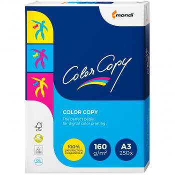 mondi Farblaser-/Farbkopierpapier ColorCopy in A3, 160 g/m², Pack à 250 Blatt