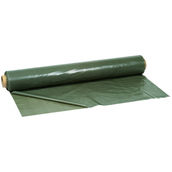 Baufolie grau/grün, 2 m x 50 m