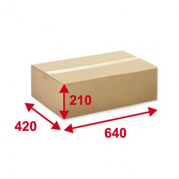 Kartonschachteln braun, 640 x 420 x 210 mm