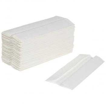 Wepa Papierhandtücher 2-lagig, hochweiss, C-Falzung, Karton à 2'880 Stück