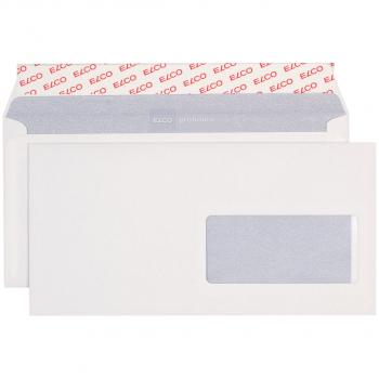 ELCO Briefumschläge ProFutura C5/6 229 x 114 mm, naturweiss, Fenster rechts, Pack à 500 Stück