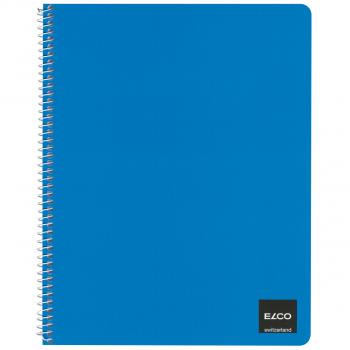 ELCO Spiralhefte A5+ mit 50 Blatt, Pack à 10 Stück