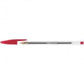 BIC Kugelschreiber Cristal Medium 1 mm, Schreibfarbe rot