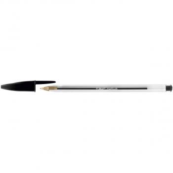 BIC Kugelschreiber Cristal Medium 1 mm, Schreibfarbe schwarz