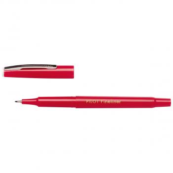 PILOT Fineliner SW-PPF 0.4 mm, Schreibfarbe rot