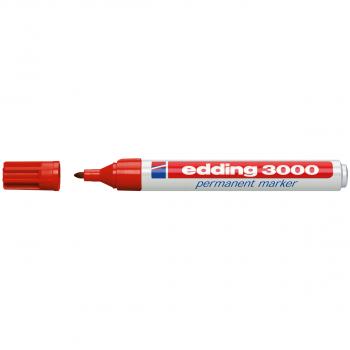 edding Permanent Marker 3000 rot