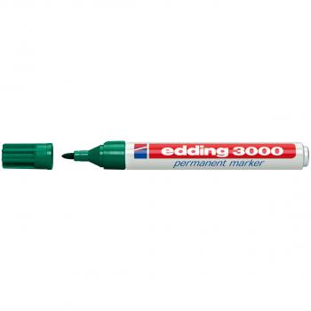 edding Permanent Marker 3000 grün