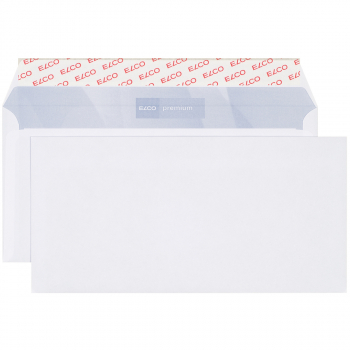 ELCO Briefumschläge Office C5/6 229 x 114 mm, weiss, Pack à 200 Stück