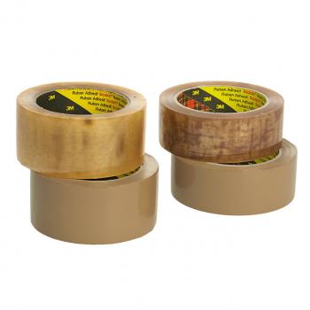 Scotch Verpackungsklebeband 3707 braun, 50 mm x 66 m, 6 Rollen