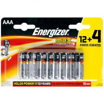 16 Energizer Batterien Modell AAA, LR3, Micro 1.5 Volt