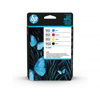 HP Combopack 950/951 CMYBK, 6ZC65AE OJ Pro 8100 1000/700 S.