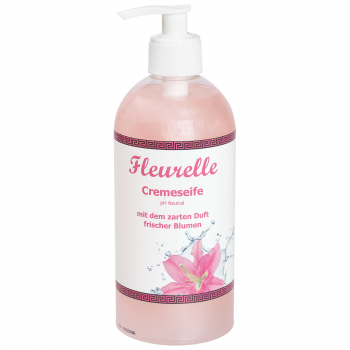 Crèmeseife Fleurelle im Handspender, 500 ml