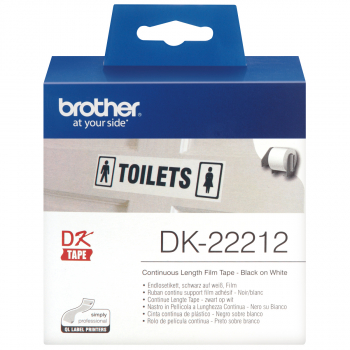 brother Endlosetikett DK-22212, weiss 62 mm x 15.24 m