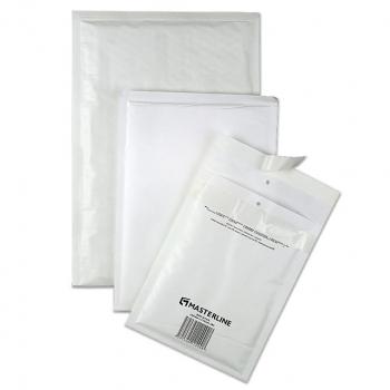 Luftpolsterversandtaschen, weiss, 370 x 480 mm aussen / 340 x 470 mm innen, Karton zu 100 Stück