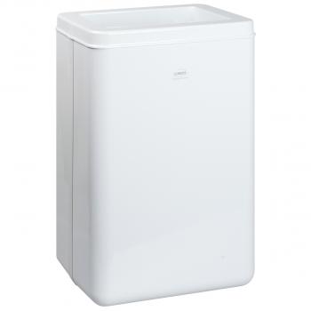 Wepa Abfallbehälter für Waschräume 50 Liter, weiss