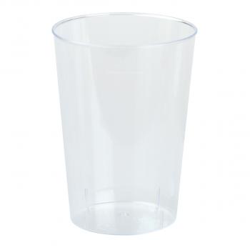 Einwegbecher für Inhalt 100 ml, transparent, Pack à 40 Stück