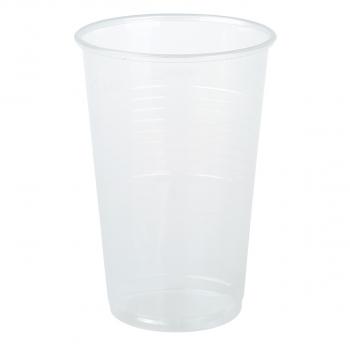 Einwegbecher für Inhalt 300 ml, transparent, Pack à 50 Stück