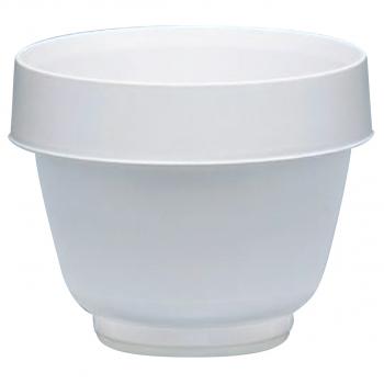 Einwegisolierbecher für Inhalt 150 ml, weiss, Pack à 100 Stück