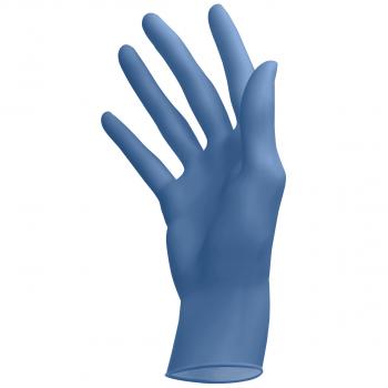 Latex-Einweghandschuhe puderfrei blue, Grösse XS, Box à 100 Stück
