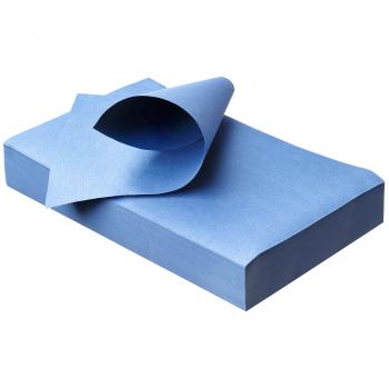 Unterlagen 18 x 28 cm, blue, Pack à 250 Stück