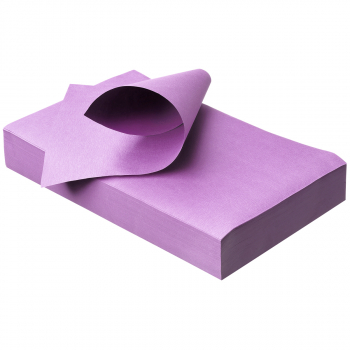 Unterlagen 18 x 28 cm, lila, Pack à 250 Stück
