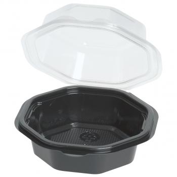Einweg-Schalen für Inhalt 200 mml/400 ml, 11.8 x 6 cm, achteckig, Pack à 25 Stück