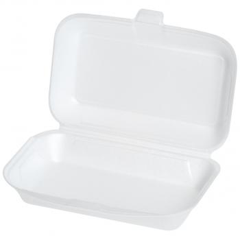 Einweg-Menüschalen für Inhalt 650 ml, 24 x 14 x 7 cm, 1-teilig, Pack à 125 Stück