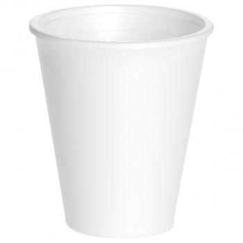 Einwegisolierbecher für Inhalt 200 ml, weiss, Pack à 25 Stück