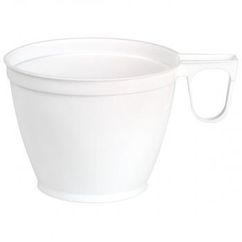 Einwegtassen für Inhalt 180 ml, weiss, Pack à 50 Stück